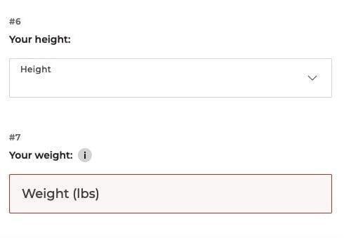 Bestow app_ weight question 1