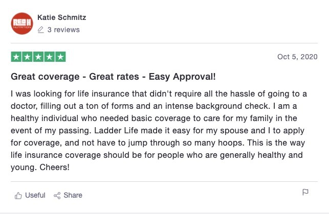 Ladder Life Customer Review 6