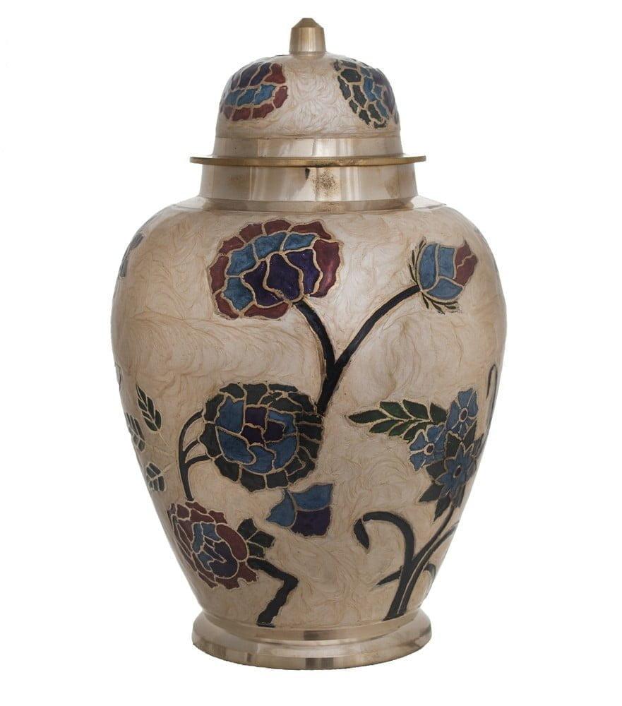 Decorated Porcelain Urn